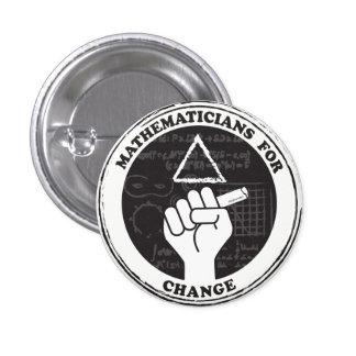 Mathématiciens pour le bouton de changement badge