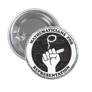Mathématiciens pour le bouton de représentation badges
