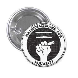 Mathématiciens pour le bouton d'égalité badges