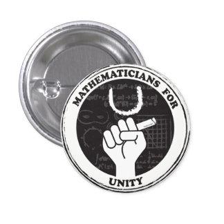 Mathématiciens pour le bouton d'unité pin's