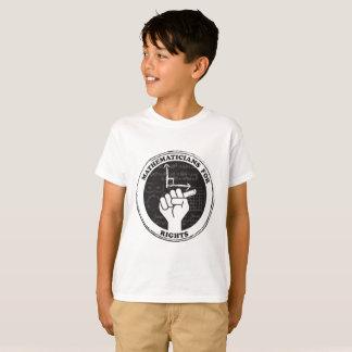 Mathématiciens pour le T-shirt de droites -