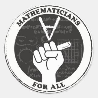Mathématiciens pour tous les autocollants