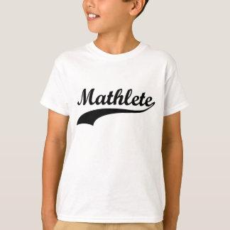 Mathlete badine le T-shirt