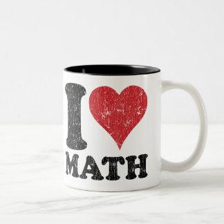 Maths d'amour du cru I Mug Bicolore