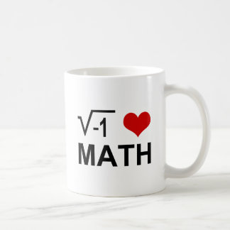 Maths I <3 Mug Blanc