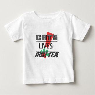 MATIÈRE DES VIES DE CHATS ! T-shirt fin du Jersey