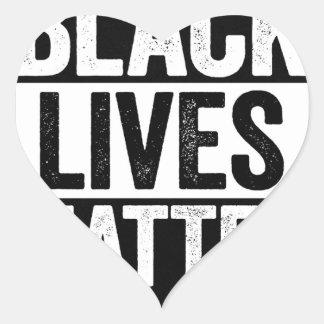 Matière noire des vies sticker cœur
