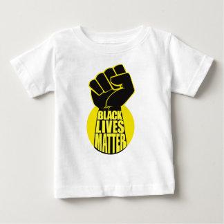 Matière noire des vies t-shirt pour bébé