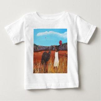 Matilda et émeu t-shirt pour bébé