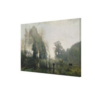 Matin à Ville-d'Avray ou, au vacher, 1868 Toiles