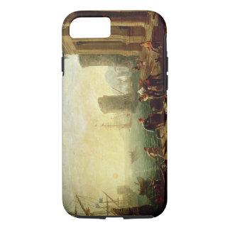 Matin au port, 1640 (huile sur la toile) coque iPhone 8/7