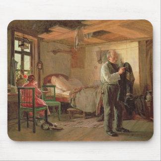 Matin dans la loge d'un portier, 1874 tapis de souris