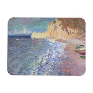 Matin de Claude Monet | chez Etretat Magnet Rectangulaire Avec Photo
