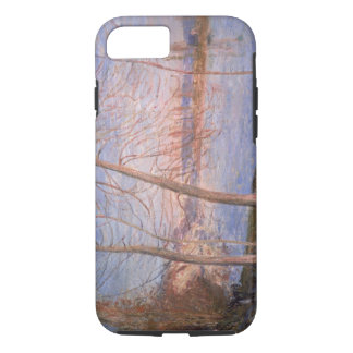 Matin d'hiver d'Alfred Sisley | Coque iPhone 7