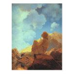 Matin (ressort), beaux-arts de Maxfield Parrish Cartes Postales