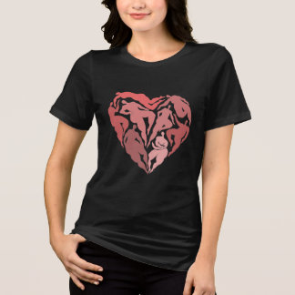Matisse a inspiré la chemise de coeur de danseurs t-shirt