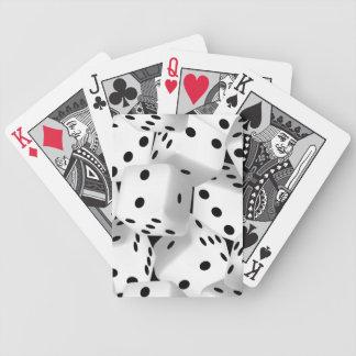 Matrices chanceuses cartes à jouer