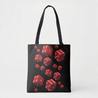 matrices rouges de sac fourre-tout