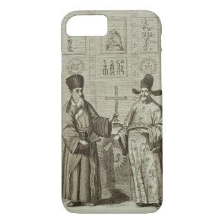 Matteo Ricci (1552-1610) et Paulus Li, de 'Chin Coque iPhone 7
