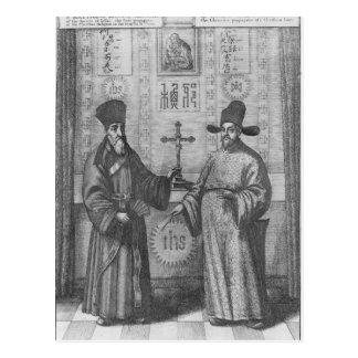Matteo Ricci et Paulus Li Carte Postale