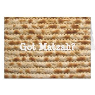 Matzah obtenu ? Carte de voeux de pâque/Pesach