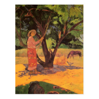 """Mau Taporo"" - Paul Gauguin Carte Postale"