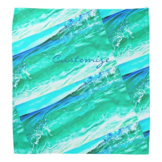 Maui bleu/vert ondule Thunder_Cove Bandana
