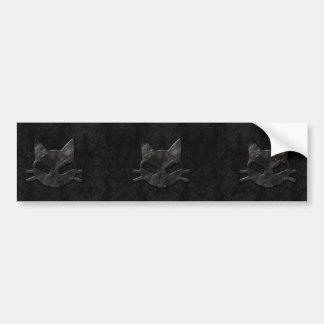 Mauvais adhésif pour pare-chocs gothique noir frai autocollant de voiture