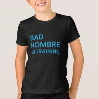 Mauvais Hombre dans la pièce en t d'enfant de T-shirt