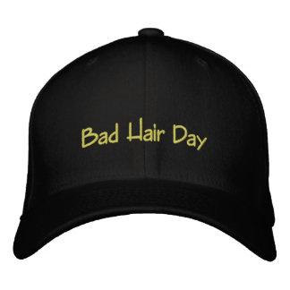 Mauvais jour de cheveux casquette brodée