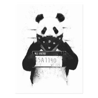 Mauvais panda carte postale
