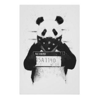 Mauvais panda poster