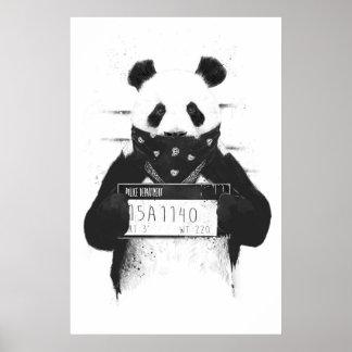 Mauvais panda posters