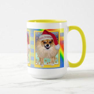 Mauvais Père Noël Noël d'arc-en-ciel de la tasse |