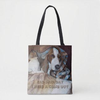 Mauvais sac de toilettage de chien de jour de