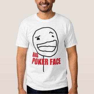 Mauvais visage de tisonnier t-shirt