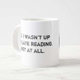 Mauvaise tasse de café d'extra large de club de