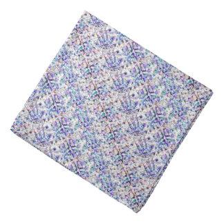 Mauve-clair modelé bandana
