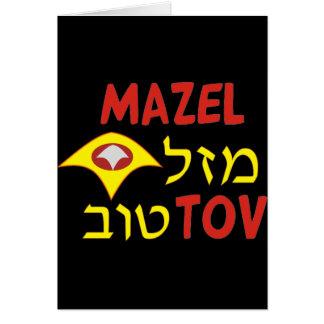 Mazal Tov Carte De Vœux