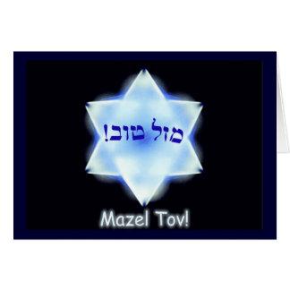 Mazel Tov ! Carte De Vœux