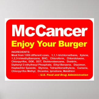 McCancer Affiches