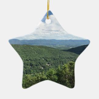 McGaheysville, la Virginie Ornement Étoile En Céramique