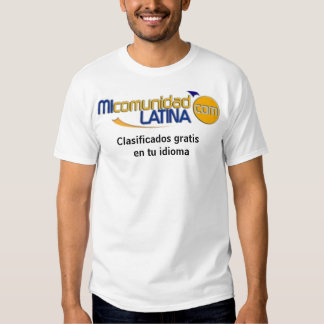 mcllogo, idioma gratuit d'en TU de Clasificados T-shirt