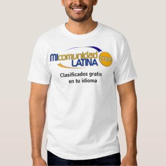 mcllogo, idioma gratuit d'en TU de Clasificados T-shirts
