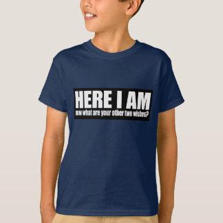 me voici t-shirt