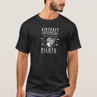 Mécanicien d'aviation t-shirt