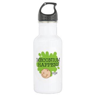 Meconium se produit bouteille d'eau