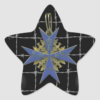 Médaille de German Pour Le Merit Autocollants En Étoile