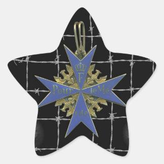 Médaille de German Pour Le Merit Sticker Étoile