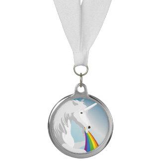 Médaille Licornes vomissantes d'illustration
